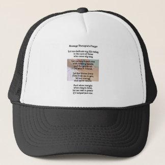 Boné Chapéu da oração do terapeuta da massagem