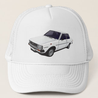 Boné Chapéu da porta de Toyota Corolla DX E70 2 - tampe
