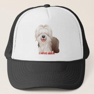 Boné Chapéu de basebol do presente do cão de carneiros