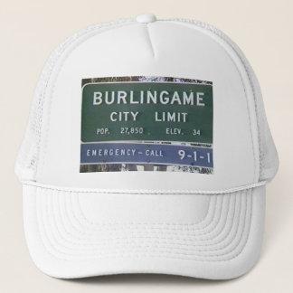 Boné Chapéu de Burlingame
