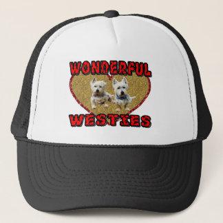 Boné Chapéu de Westie