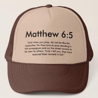Boné Chapéu do 6:5 de Matthew