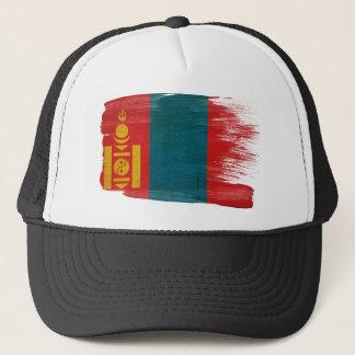 Boné Chapéu do camionista da bandeira de Mongolia