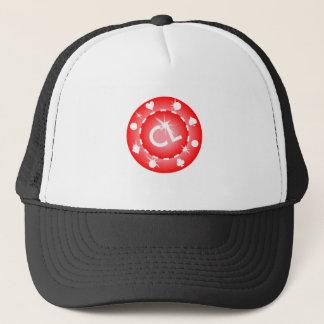 Boné Chapéu do camionista de Leader® da microplaqueta