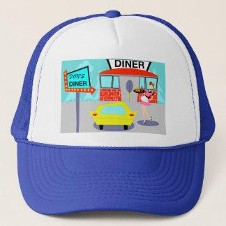 Boné chapéu do camionista do comensal dos anos 50