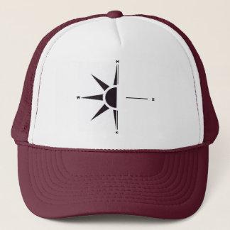 Boné Chapéu do camionista do compasso de Sun