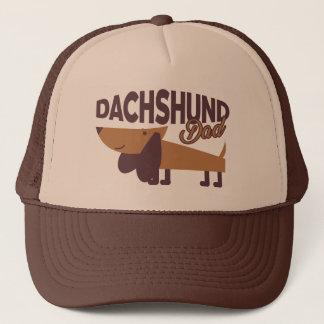 Boné Chapéu do camionista do pai do Dachshund