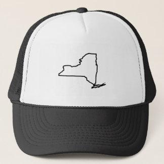 Boné Chapéu do camionista dos Estados de Nova Iorque