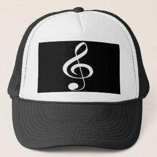 Boné chapéu do G-clef