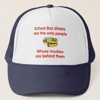 Boné Chapéu do motorista de auto escolar