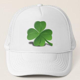 Boné Chapéu do trevo do trevo do dia de St Patrick