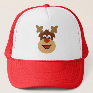 Boné Chapéu feliz da rena do feriado
