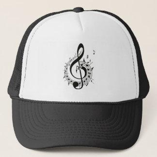 Boné Chapéu grande ideal da nota do Clef