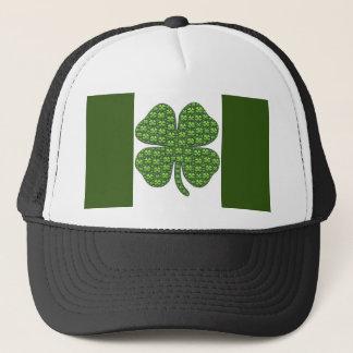 Boné Chapéu irlandês afortunado do camionista da