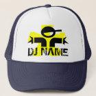Boné Chapéu personalizado do DJ com nome feito sob