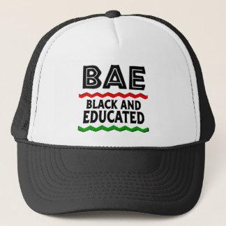 Boné Chapéu preto e educado de BAE