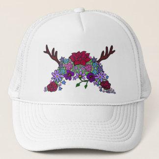 Boné Chapéu selvagem do camionista da rainha do
