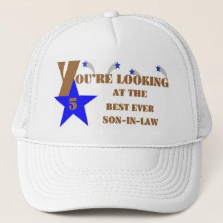 Boné chapéu sempre de cinco estrelas do genro 57Best