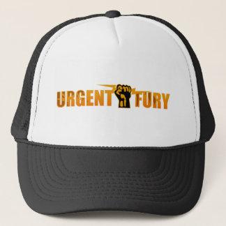 Boné Chapéu urgente do padrão da fúria