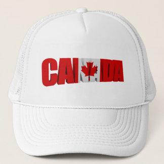 Boné Chapéus da bandeira do bordo de Canadá
