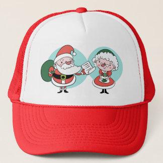 Boné Chapéus do papai noel & da Sra. Claus