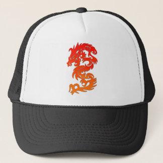 Boné chinês do fogo do dragão
