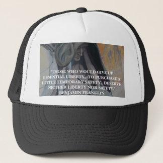 Boné Citações de Benjamin Franklin - chapéu