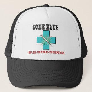 Boné Codifique o azul 100% toda a epinefrina natural
