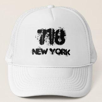 Boné Código de área de New York 718