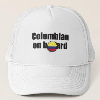 Boné Colombiano a bordo
