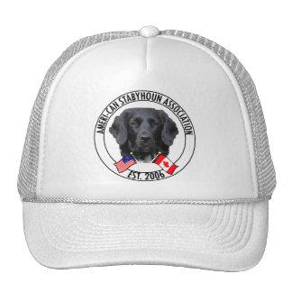 Boné com o logotipo da associação de Stabyhoun do