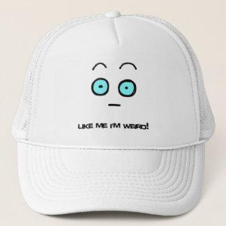 Boné como mim eu sou chapéu estranho