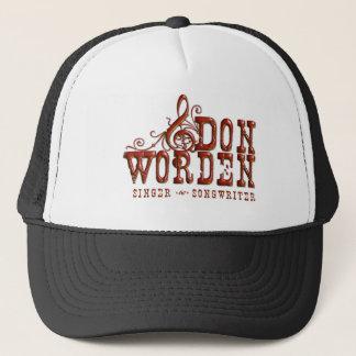 Boné Compositor do ~ do cantor de Don Worden