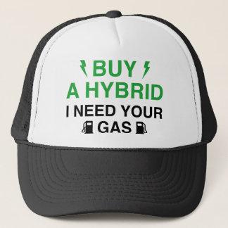 Boné Compre um híbrido que eu preciso seu gás