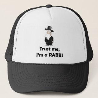 Boné Confie que eu mim é um rabino - humor judaico