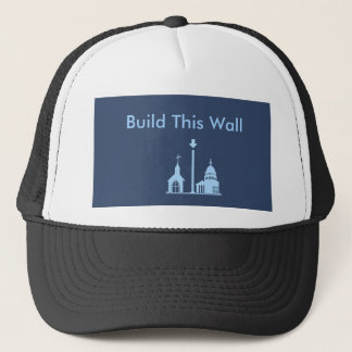 Boné Construa este chapéu da parede