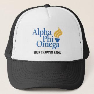 Boné Cor alfa de Omega da phi - tocha
