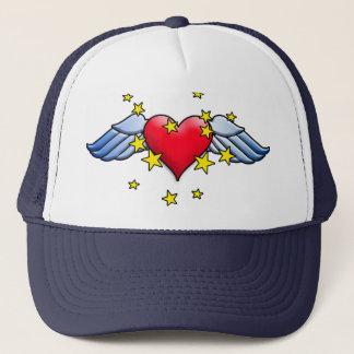 Boné Coração do vôo