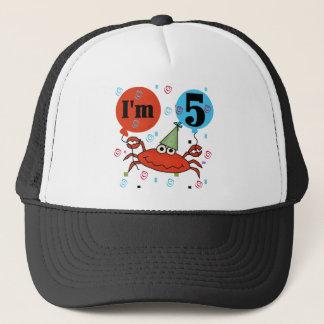 Boné Crab o 5os camiseta e presentes do aniversário
