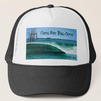 Boné Cuidado para o chapéu do camionista da angra