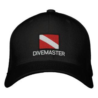 Boné da bandeira do mergulho - DIVEMASTER