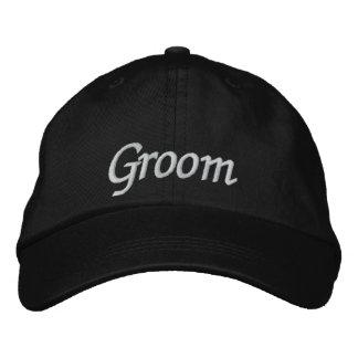 Boné de beisebol/chapéu Wedding bordados noivo