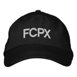Boné de beisebol do costume de FCPX