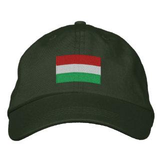 Boné de lãs do flexfit da bandeira de Hungria