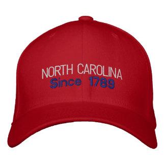 Boné de North Carolina desde 1788