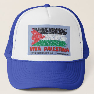 Boné de Viva Palestina