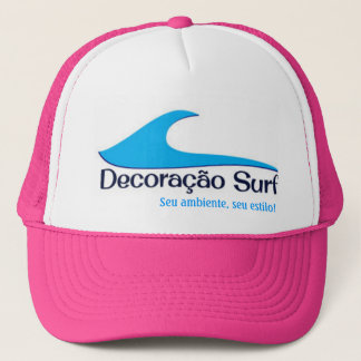 Boné Decoração Surf