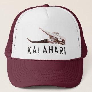 Boné Deserto de Kalahari em África: Crânio inoperante