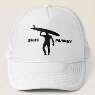 Boné Design da silhueta do surfista de Longboard no