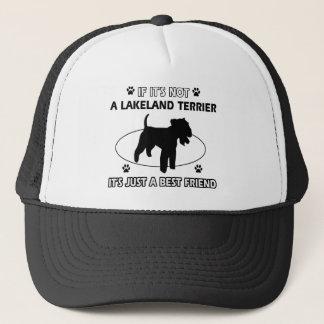 Boné Design do cão de LAKELAND TERRIER